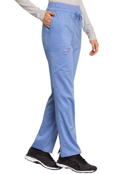 Women's Drawstring Tapered Leg Scrub Pant, , large