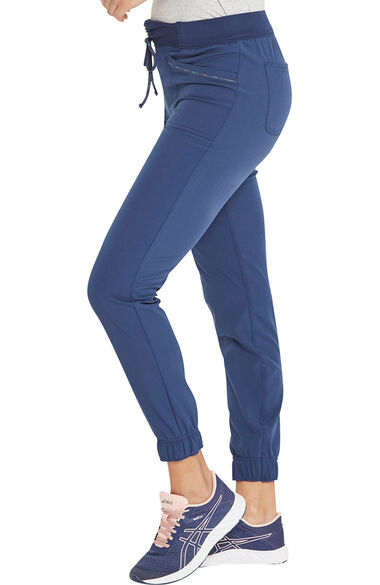 Women's Ruched Jogger Scrub Pant, , large