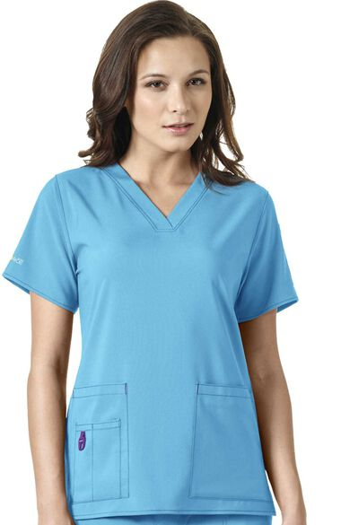 Clearance Women's V-Neck Media Top, , large
