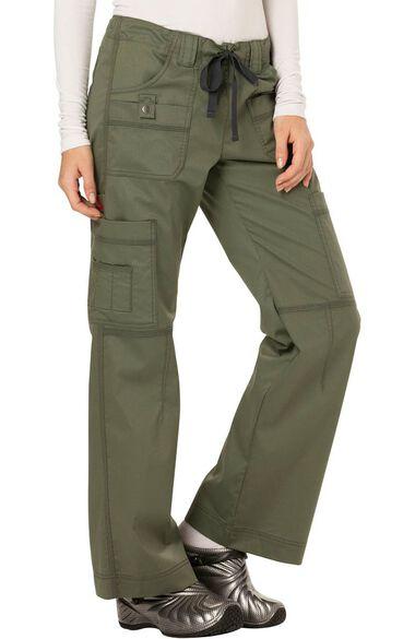 Women's Youtility Drawstring Elastic Waist Scrub Pant, , large