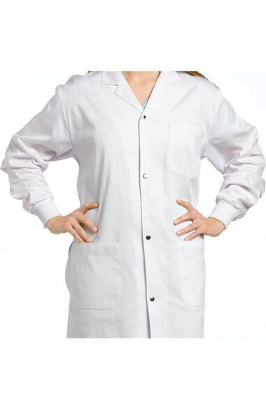 "Unisex Patch Pocket 42"" Lab Coat, , large"