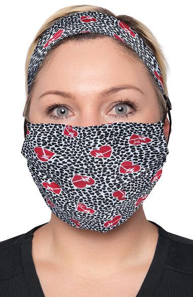 FINAL SALE Women's Print Mask & Headband Set, , large