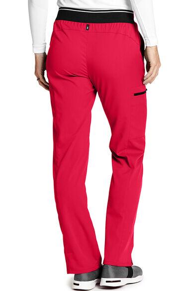 Spandex Stretch by Grey's Anatomy Women's Kim Colorblock Scrub Pant, , large