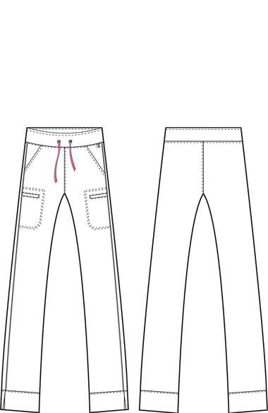 Women's Hottie Sleek Fit Scrub Pant, , large