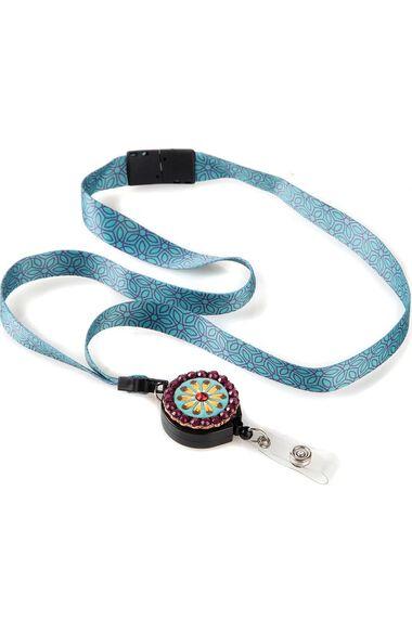 Ribbon Lanyard with Badge Reel, , large
