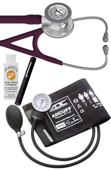 Cardiology IV Stethoscope, ADC Prosphyg 760 Aneroid Sphygmomanometer, Adlite Plus Penlight & Praveni Kit, , large