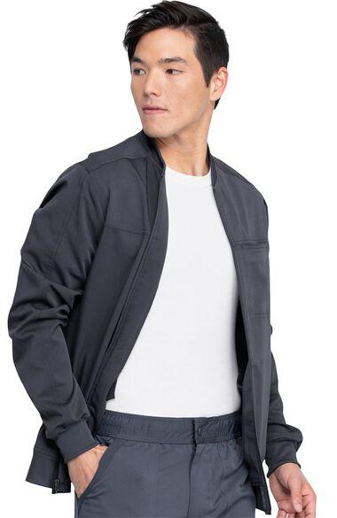 Men's Zip Front Jacket, , large