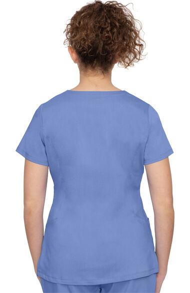 Women's Jeni Solid Scrub Top, , large