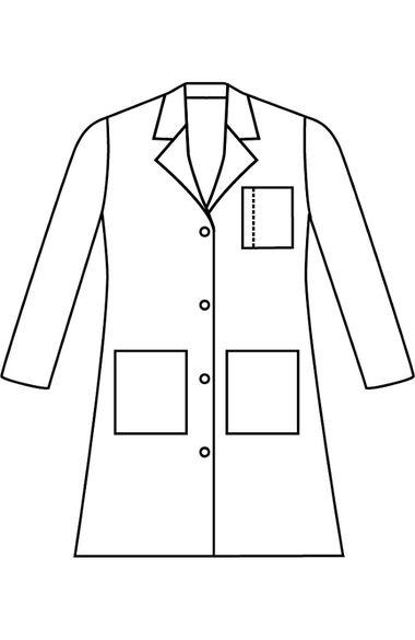 "Women's 3-Pocket Poplin 38"" Lab Coat, , large"