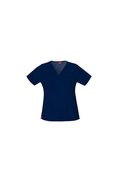 Clearance Women's Youtility Solid Scrub Top, , large