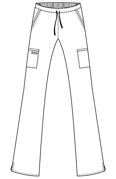 Women's Endurance Cargo Scrub Pant, , large