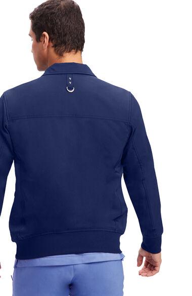 Men's Jonathan Bomber Solid Scrub Jacket, , large