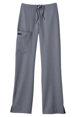 Women's Tri Blend Zipper Scrub Pants