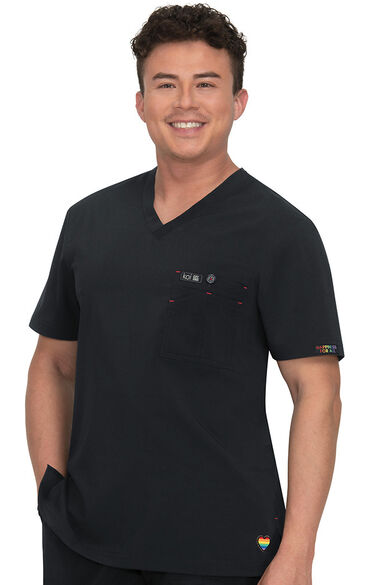 Men's Bryan Limited Edition Solid Scrub Top, , large