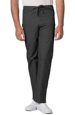 Unisex Drawstring Solid Scrub Pants