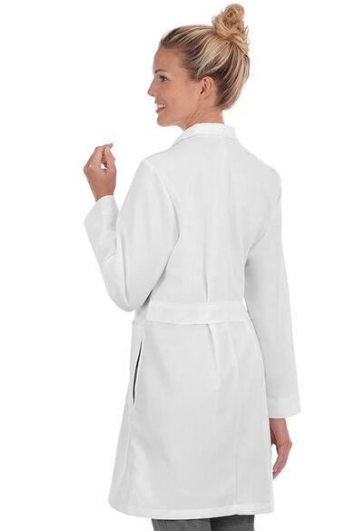"Women's Pleated-Back 37"" Lab Coat, , large"