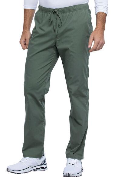 Unisex Pocketless Drawstring Scrub Pant, , large