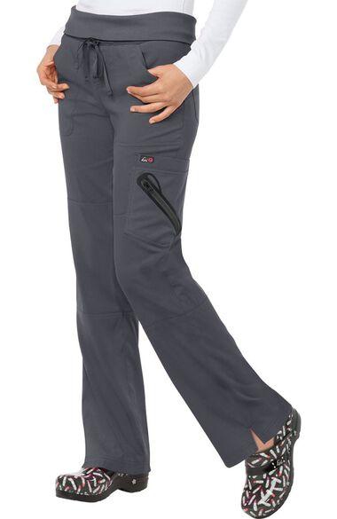 Women's Harmony Convertible Knit Waistband Scrub Pant, , large