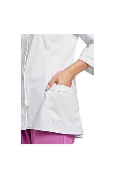 """Women's ¾ Sleeve 29⅝"""" Lab Jacket, , large"""