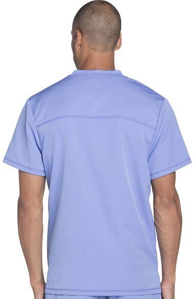Men's Connected V-Neck Solid Scrub Top, , large