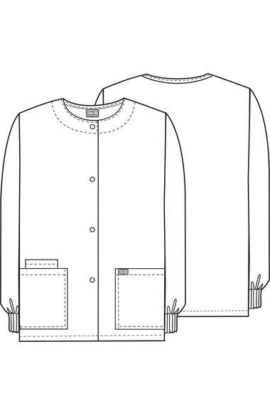 Women's Crew Neck Sunnyvale Print Jacket, , large