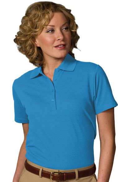 Women's Short Sleeve Soft Touch Polo, , large