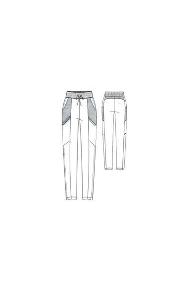 Spandex Stretch by Grey's Anatomy Women's Lane Scrub Pant, , large