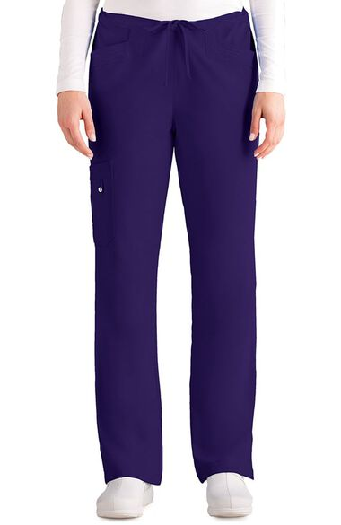 Clearance Signature by Grey's Anatomy Women's Cargo Scrub Pant, , large