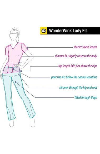 Clearance Women's Silky Long Sleeve Underscrub, , large