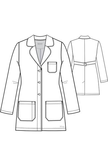 "Signature by Grey's Anatomy Women's 32"" Lab Coat, , large"