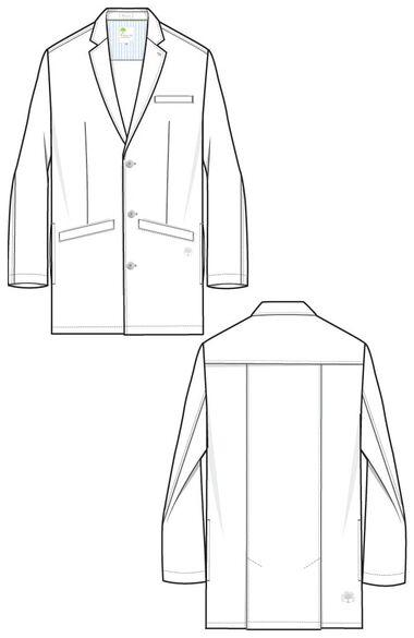 Men's Lyndon Lab Coat, , large
