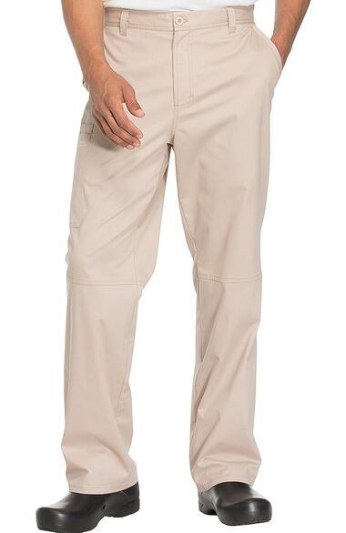 Clearance Men's Zip Fly Tapered Scrub Pant, , large