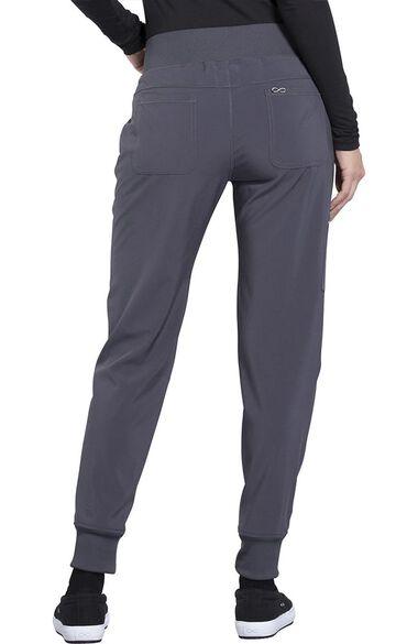 Women's Elastic Waistband Tapered Jogger Scrub Pant, , large