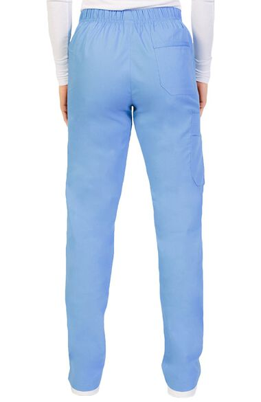 Clearance Women's Pull On Straight Leg Scrub Pant, , large