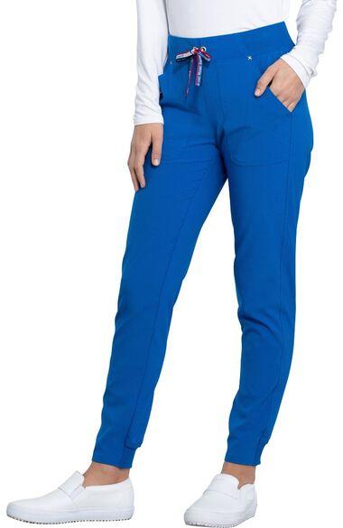 Clearance Women's Tapered Leg Jogger Scrub Pant, , large
