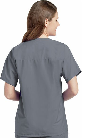 Unisex Solid Scrub Top, , large