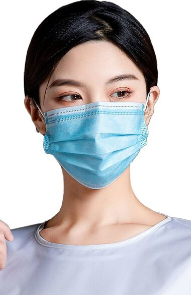 Non Compressed 3 Ply Medical Face Mask Box of 50, , large