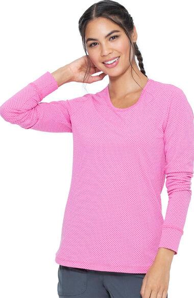 Women's Comfort Knit Underscrub Tee, , large