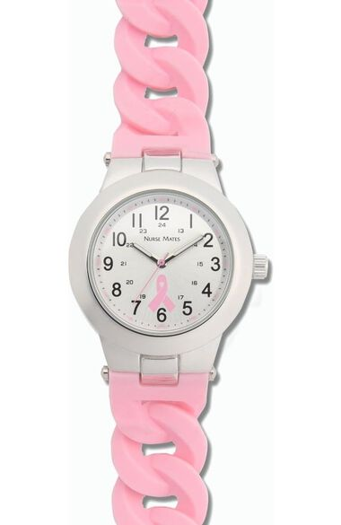 Women's Water Resistant Silicone Strap Watch, , large