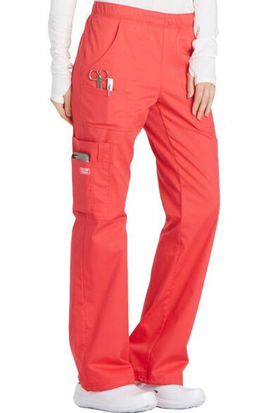 Clearance Women's Elastic Waist Scrub Pant, , large