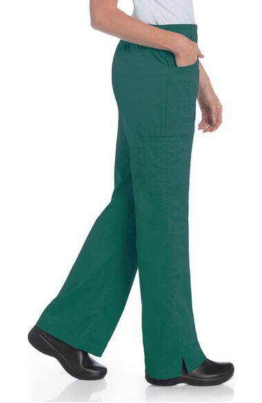 Clearance Women's Flat Front Cargo Scrub Pant, , large