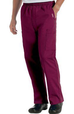 Men's Cargo Pocket with Zipper Fly Scrub Pants