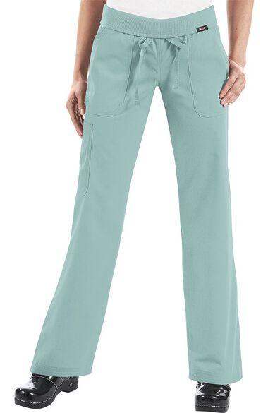Women's Morgan Yoga Style Scrub Pant, , large