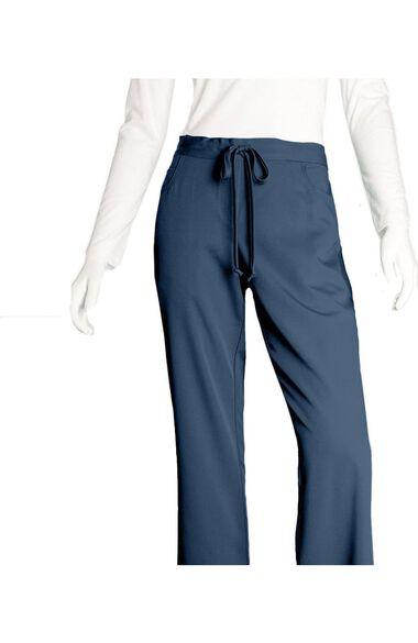 Grey's Anatomy Classic Women's Mock Wrap and 5-Pocket Pant Set, , large
