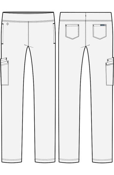 Women's Comfort Slim Scrub Pant, , large