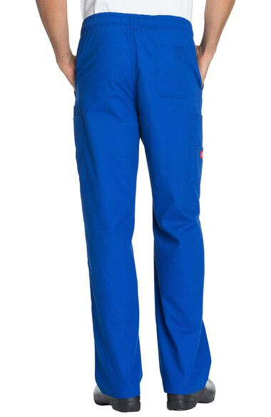 Clearance Men's Zip Fly Pull On Scrub Pant, , large
