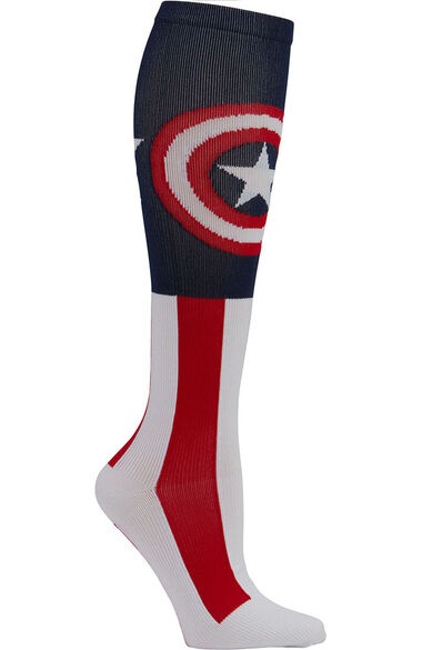 Women's 8-12 MmHg The Super Soldier Print Compression Sock, , large