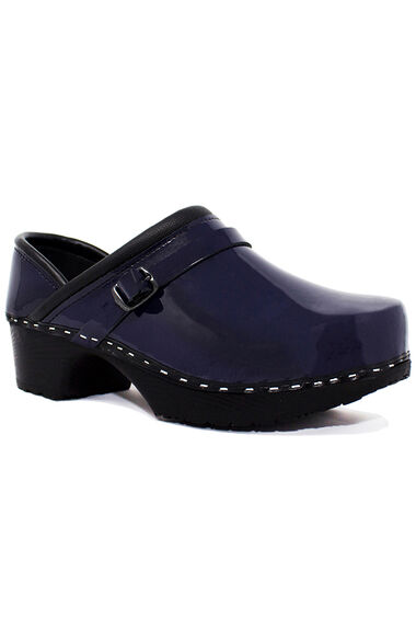 Women's Very Blueberry Patent Solid Clog, , large