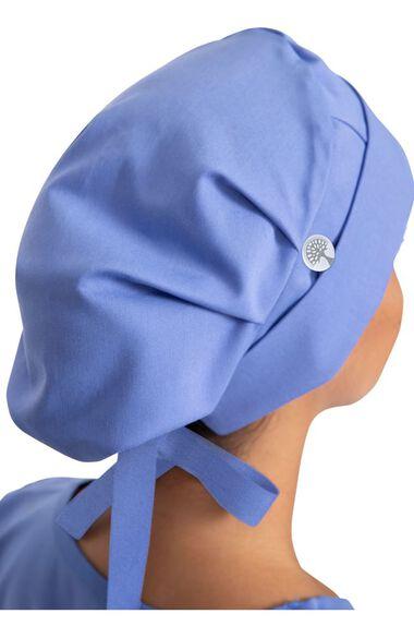 Women's Sage Bouffant Solid Scrub Hat, , large
