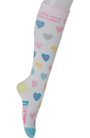 Clearance Women's 8-15 MmHg Print Compression Sock, , large